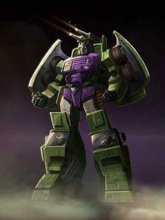 Constructicon Mixmaster Artwork From Transformers Legends Game