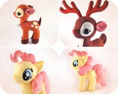 He encontrado este interesante anuncio de Etsy en https://www.etsy.com/es/listing/216423344/pony-fawn-reindeer-pdf-pattern