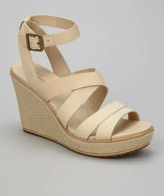 99a9aae15a0b  Take a look at this Off-White Danforth Wedge Sandal by Timberland on