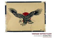 Vintage Tattoo Flash: 100 Years of Traditional Tattoos from the Collection of Jonathan Shaw 10 Tattoo, Hawk Tattoo, Electronic Scrap, Moose Tattoo, Forms Of Literature, Tattoo Designs, Tattoo Ideas, Vintage Flash, Book Categories