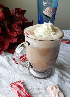 Cocoa with Peppermint Bark Vodka