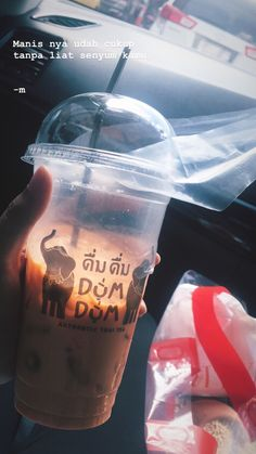 Aesthetic Images, Quote Aesthetic, Thai Tea, Snap Food, Food Quotes, Quotes Indonesia, Tumblr Quotes, Instagram Story Ideas