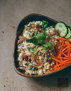 #Vegan Lap Tao Hoo (Spicy Minced Tofu Salad) | vegan miam