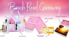 Enter to win a Beach Reads Prize Pack, plus $100 Amazon gift card. Everyone who enters WINS a FREE ebook.