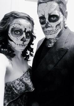 1000 images about halloween makeup on pinterest sugar skull makeup sugar skull and day of. Black Bedroom Furniture Sets. Home Design Ideas