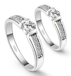 Find More Rings Information about Fancy Couple Rings For Lover's Korean Style CZ Diamond High Quality Fashion Bijoux  Best Gift Of Love Summer Style Uaib J292,High Quality ring multi,China ring rivet Suppliers, Cheap ring flasher from ULOVE No.2 Fashion Jewelry Store  on Aliexpress.com