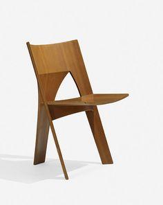 Nanna Ditzel: three legged chair