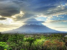 If you head to Central America // A little boat trip to Concepción Volcano, Ometepe, Nicaragua is pretty spectacular.