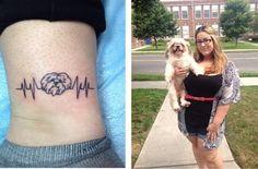 Quer homenagear seu bichinho em uma tatuagem, mas ainda não decidiu o que fazer? Aqui vão 15 sugestões encantadoras