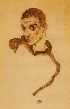 Egon Schiele, Self Portrait, 1914