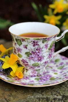 April Tea: The Charm of Home