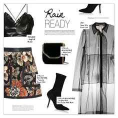 """""""PUDDLE JUMPER: RAINY DAY OUTFIT"""" by larissa-takahassi ❤ liked on Polyvore featuring STELLA McCARTNEY, Topshop, N°21, StellaMcCartney and topshop"""