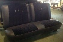 Chevy Nova Front Bench #reupholster#upholster#chevy#bench#seats#custom