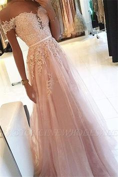 pink prom dress A Line party dress Appliques Prom Dress with off shoulder evening dress Pinkes Ballkleid A Line Partykleid Appliques Ballkleid mit schulterfreiem Abendkleid Pretty Prom Dresses, Prom Outfits, A Line Prom Dresses, Tulle Prom Dress, Tulle Lace, Beaded Lace, Pink Lace, Prom Dresses Long Pink, Junior Prom Dresses