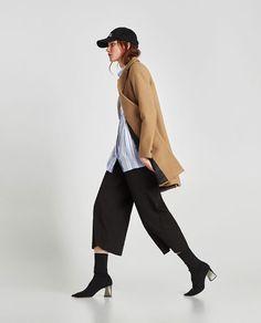 bfd1323d4dd Imagine 4 din PALTON TOMBOY de pe Zara Zara United States