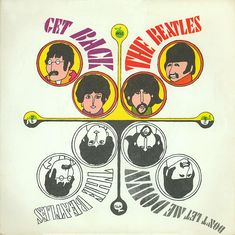 Get Back was recorded January 28, 1969 at Apple Studios, London and released as a UK single April 11, 1969. Was #1 for six weeks (April 23 - June 3). US single May 5, 1969. Was #1 for five weeks (May 24 - June 27).