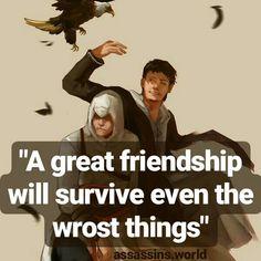 Assassins.world - Instagram - Assassins Creed - Quotes - Hidden Blade - Brotherhood - Assassins quotes - Malik Al Sayf & Altair bin La'Ahad - Jerusalem