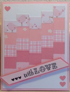 Pink Love Card