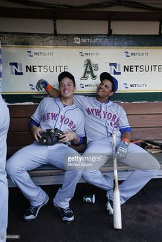 Wilmer Flores and Juan Lagares