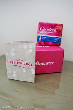 Stuff I Got: Carefree Liners - Influenster VoxBox Unboxing + Review