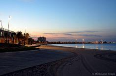 Melbourne Snaps: Morning Light - St Kilda Foreshore