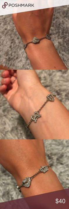 Juicy Couture charm bracelet Juicy couture charm bracelet Juicy Couture Jewelry Bracelets