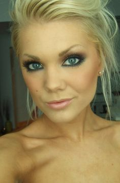 Beautiful makeup for the wedding.... Wait, I'm finally getting MARRIED?! AHHHH!!!!