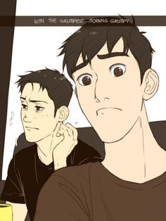 Marco Bodt and Tadashi... They finally meet in heaven...