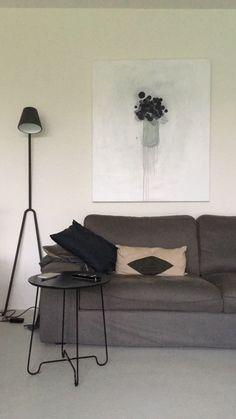 #art #Flowers #painting  #interiordesign  www.ingridvanderkamp.nl Art Flowers, Couch, Interior Design, Painting, Furniture, Home Decor, Design Interiors, Homemade Home Decor, Sofa