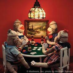 Sock Monkey poker