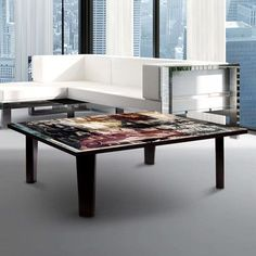 TAF DECOR Chicago Times 1 Coffee Table