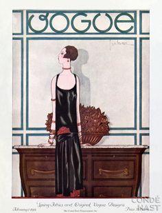Vogue cover - February 1-1925