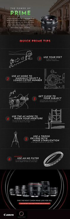Tips de fotografía según el tipo de lente que utilices