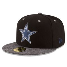 Dallas Cowboys NFL Draft Shadow Tech Fitted Hat