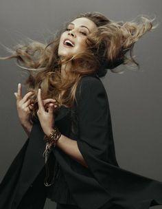 Anouk for Vogue Netherlands