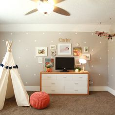 Polka Dot Nursery Design Ideas, Pictures, Remodel, and Decor