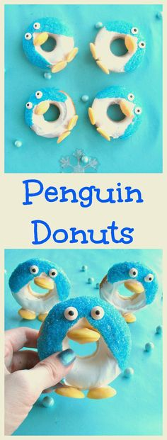Penguin Donuts are a