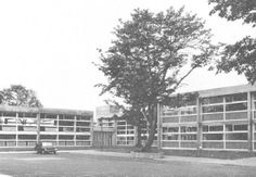 Urmston Boys Grammer where Stuart went to school before it was demolished in the late 1970's.