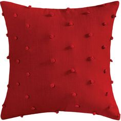Pomeroy 908378 Scarlet Knots 20 X 6 inch Red Pillow #pillows (ebay link) Red Pillows, Decorative Throw Pillows, 6 Inches, Scarlet, Vibrant Colors, Knots, Room Decor, Detail, Link