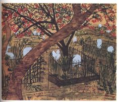 "Elizabeth Bishop, ""Graveyard With Fenced Graves""."