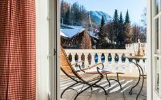 You were hiking in Switzerland and need to relax in a nice surrounding? Then we would recommend you to have a walk in our park, close to the beautiful hotel. Beautiful Hotels, Porch Swing, Outdoor Furniture, Outdoor Decor, Hiking, Relax, Park, Luxury, Nice