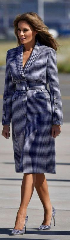 First Lady Melania Trump in Michael Kors