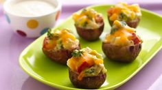 These yummy potato bites will make a great after-school treat!