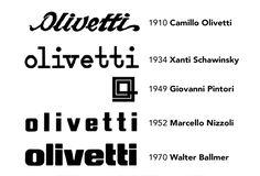 El logotipo original de Olivetti fue conceptualizado por su fundador y se vio por primera vez en 1910. Posteriormente el logo fue revisado porXanti Schawinsky(1934),Giovanni Pintori(1949),Marcello Nizzoli(1952) y finalmenteWalter Ballmeren 1970 lo dotó de la estética actual, la que más ha perdurado en el tiempo. Se trata de un logotipo compacto, sólido y robusto, que representa a la perfección la identidad de la marca. Compuesto íntegramente en caja baja con todas las ascendentes…