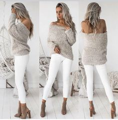 cute outfits – Awesome 38 Best Winter Outfits Ideas For Women This Year. More at luvlyfashion. Mode Outfits, Casual Outfits, Fashion Outfits, Womens Fashion, Fashion Fashion, Fashion Styles, Fashion Clothes, Fashion 2018, Cheap Fashion