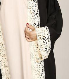 Discover our latest abaya collection. Shop for jilbabs and khimars. We tailor your abaya to your individual size. Iranian Women Fashion, Islamic Fashion, Muslim Fashion, Modest Fashion, Desi Wedding Dresses, Wedding Abaya, Abaya Pattern, Hijab Style Dress, Black Abaya