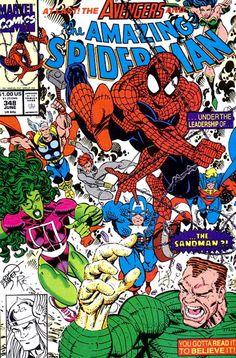 Amazing Spider-Man no. 348 (June 1991)