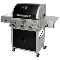 Shop for Brinkmann Zone Cooking System Dual Fuel Gas Grill. Get free delivery On EVERYTHING* Overstock - Your Online Garden & Patio Store! Char Broil Smoker, 3 Burner Gas Grill, Masterbuilt Electric Smokers, Green Mountain Grills, Grill Brands, Patio Store, Portable Bbq, Zone 5, Fuel Gas