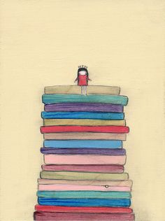 the princess and the pea - 8.5 x 11 print by Marisa and Creative Thursday. $42.00, via Etsy.