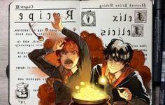 Los secretos de los hechizos de Harry Potter son revelados mediante unas curiosas ilustraciones realizadas por el artistaGabriel Picolo.